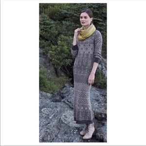 Anthropologie Sparrow maxi sweater dress small